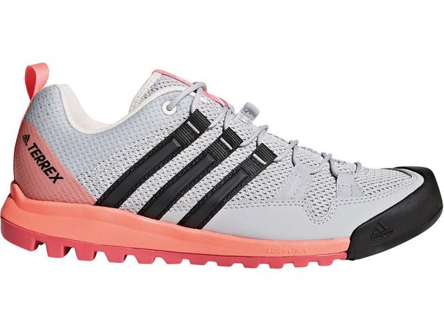 adidas TERREX Solo - Chaussures Femme - rose/blanc